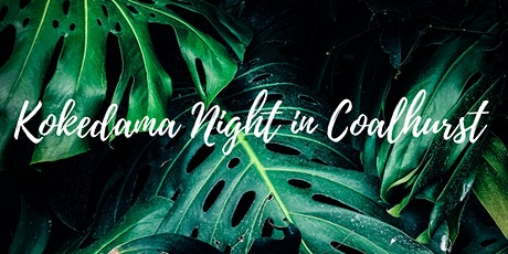 Kokedama Plant Night in Coalhurst tickets