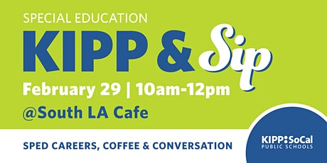 KIPP & Sip Networking Coffee Hour tickets
