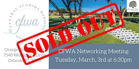 CFWA March Networking Event at Orange Tree Golf Club tickets