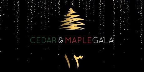 13th Annual Cedar & Maple Gala tickets