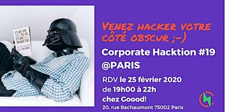 Corporate Hacktion #19 tickets
