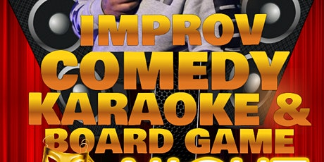 COMEDY AND KARAOKE tickets