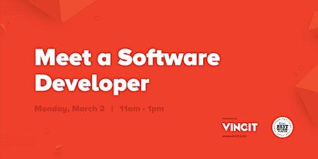 Vincit Meet a Software Developer tickets
