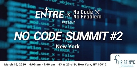 No Code Summit #2 tickets