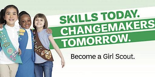 Explore Girl Scouting / STEM rocks!