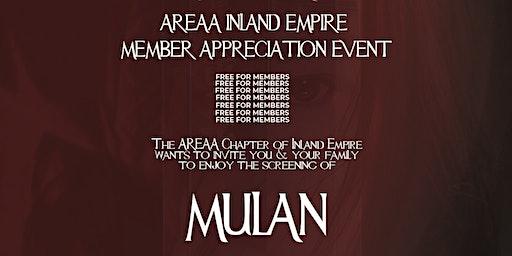 AREAA IE Member Appreciation  Event