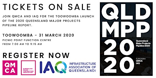 2020 Queensland Major Projects Pipeline Report - Toowoomba Event
