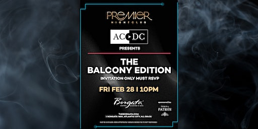 ACDC Presents - Premier : The Balcony Edition