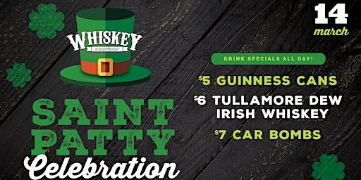 Saint Patty Celebration at Whiskey Warehouse