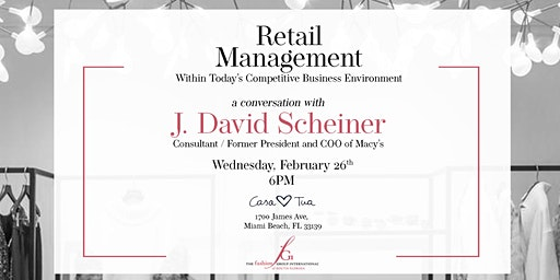 Retail Management within today's competitive business environment