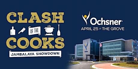 2020 Clash of the Cooks   Jambalaya Showdown tickets