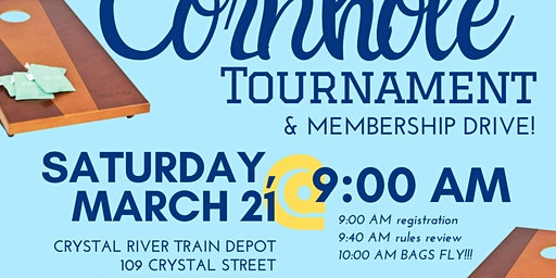 Cornhole Tournament and Membership Drive