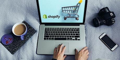 Fundamentos en eCommerce  y creación de tienda Shopify  CDMX boletos