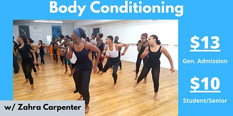 Body Conditioning with Katherine Smith Contemporary Dance Ensemble tickets