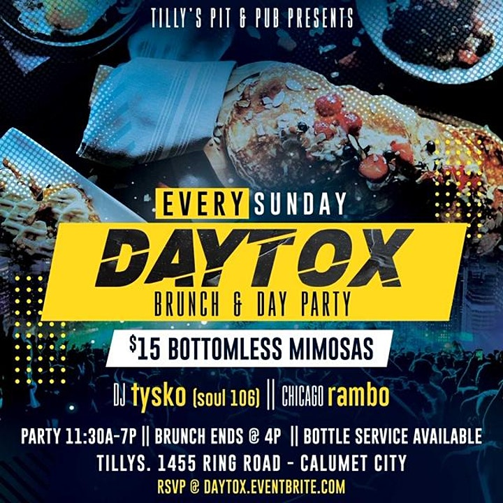 DayTox-The Sunday Brunch & Day Party at Tillys Pit and Pub image