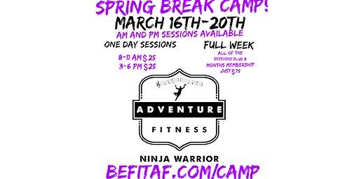 Spring Break Ninja Camp