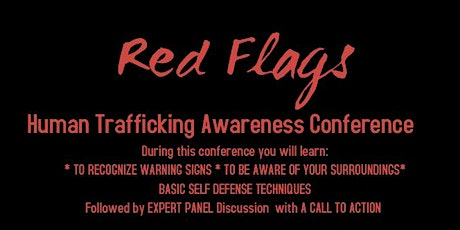 Red Flags Human Trafficking Awareness Conference tickets