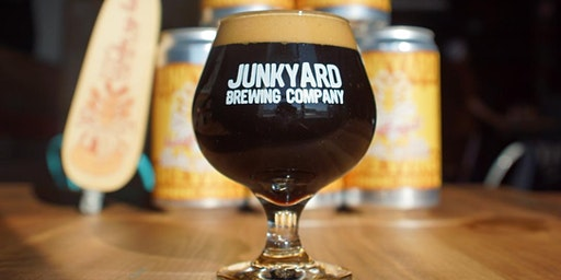 Beer & [Licensed Name] Cookies Pairing February 24th at Junkyard Brewing Co