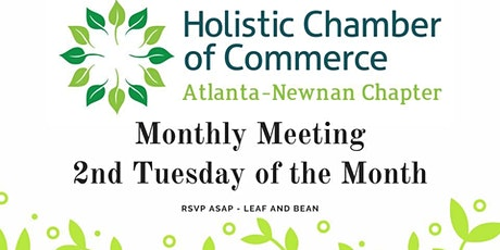 Atlanta/Newnan Chapter Meeting -What is Holistic to you? tickets