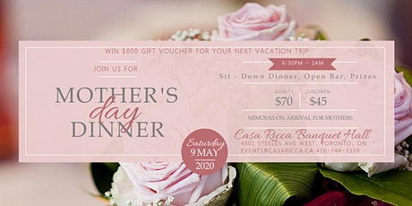 Mothers Day Dinner May 9, 2020 tickets