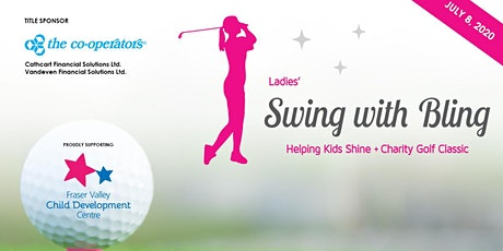 Swing with Bling Ladies' Helping Kids Shine Charity Golf Classic tickets