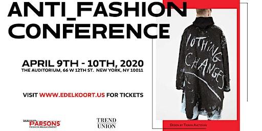 Anti_Fashion seminar in New York!