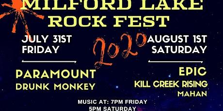 Milford Lake Rock Fest tickets