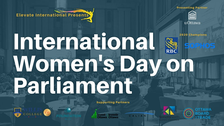 INTERNATIONAL WOMEN'S DAY ON PARLIAMENT image