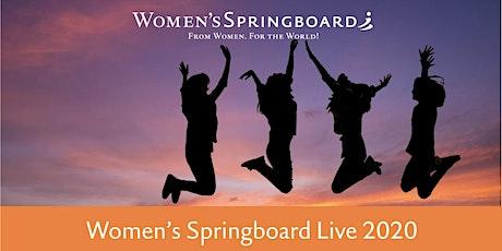 Women's Springboard Live 2020 Tickets