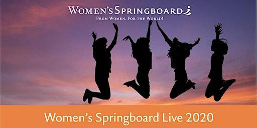 Women's Springboard Live 2020