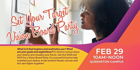 Set Your Target-Vision Board Party tickets