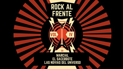 Rock al Frente Vol. IV entradas