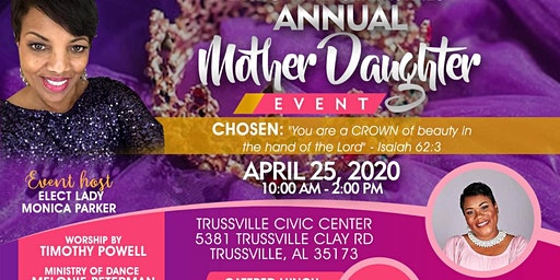 Living Waters Ministries Annual Mother & Daughter Banquet
