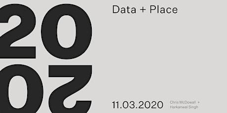 WM20/20: Data + Place tickets