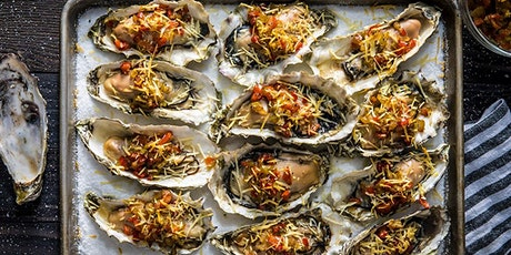Oyster Cooking Class: Grilled, Baked & Raw tickets