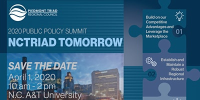 2020 NCTriad Tomorrow Public Policy Summit