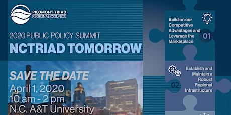 2020 NCTriad Tomorrow Public Policy Summit tickets