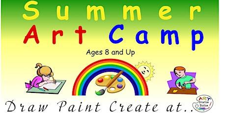 Summer Art Camp tickets