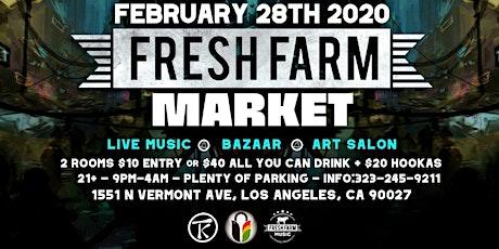 Fresh Farm Market tickets