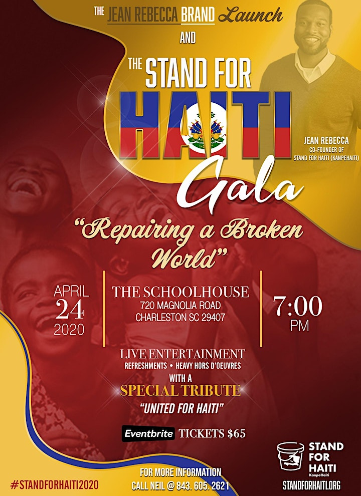 Stand For Haiti Gala 2020 image