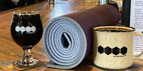Beer Yoga at Karben4 Brewing tickets