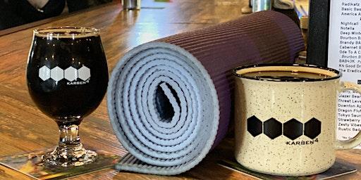 Beer Yoga at Karben4 Brewing