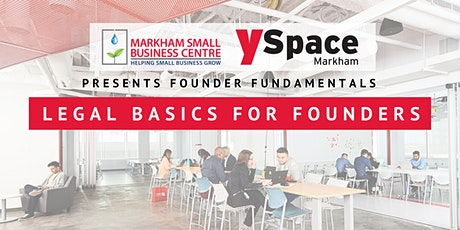 Founder Fundamentals - Legal Basics for Founders tickets