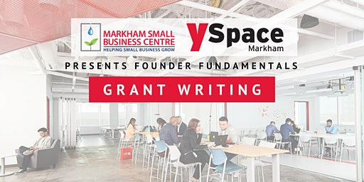 Founder Fundamentals - Grant Writing for Startups