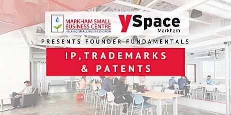 Founder Fundamentals - IP, Trademarks & Patents tickets