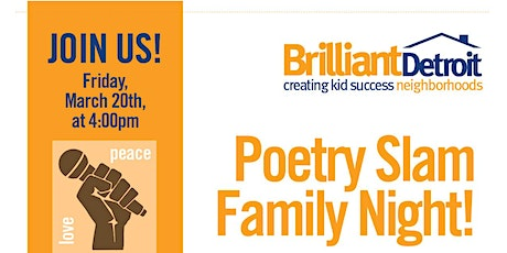 Family Poetry Night! tickets