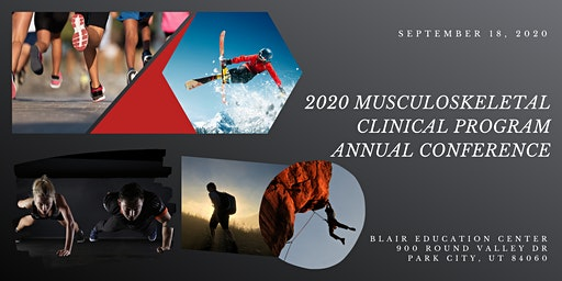 2020 Musculoskeletal Clinical Program Annual Conference