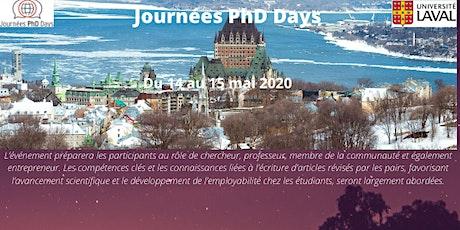 Journées PhD Days 2020 billets