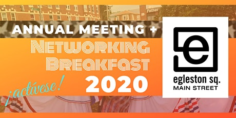 2020 Annual Meeting + Networking Breakfast in Egleston Square tickets