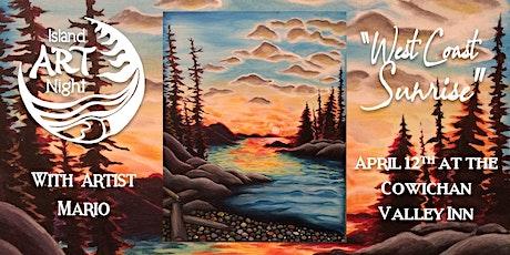 Island Art Night at Cowichan Valley Inn in Duncan tickets